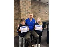 Congratulations to our September middle school athletes of the month!