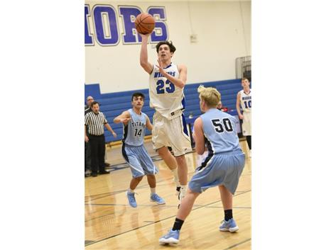 Congratulations to Ben Versluys, who scored his 1,000-th point on Friday, January 12 during the Westminster vs. Mooseheart game! Way to go Ben!