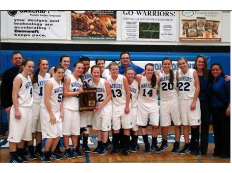 Congratulations to the 2012 girls basketball program on winning the Class 1A regionals and advancing to the sweet sixteen.
