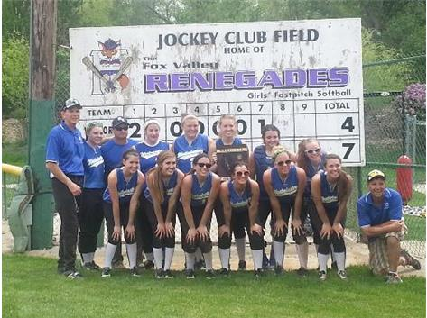 Congratulations to coach Wedell and the entire 2013 softball program for winning the 2013 IHSA Class 1A regional championship over Christian Liberty 7-4.