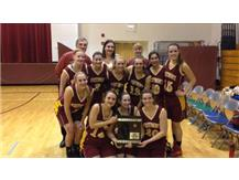 Girls Varsity Basketball 2014 Regional Champs