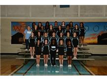 2017 Junior Varsity Cheerleaders