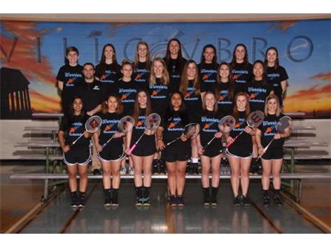 2017 Varsity Badminton