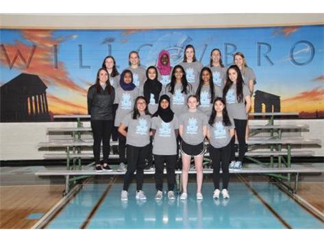 2019 JV Girls Badminton