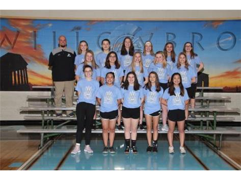 2019 Freshman Girls Badminton