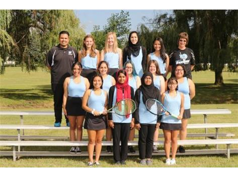 Girls 2019 JV Tennis