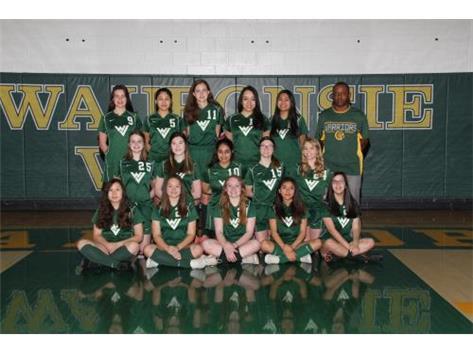 2019 Girls JV Green Soccer