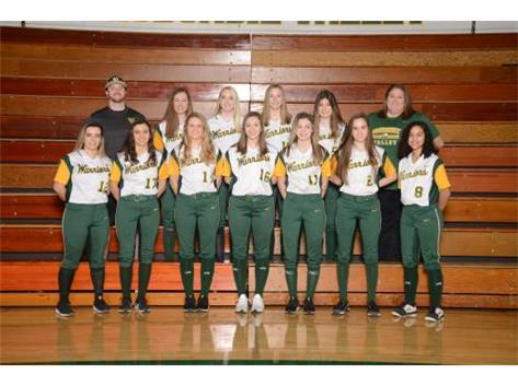 2019 Girls Varsity Softball