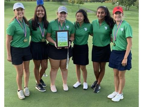 Girls Golf - '19 Aurora City Champions!!