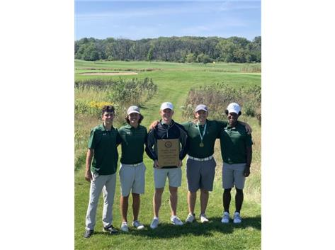 '19 Boys Golf - Providence Invite Champions