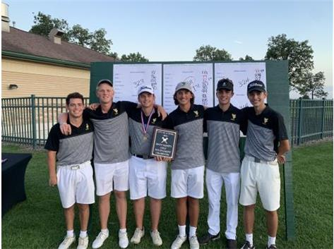 '19 Boys Golf Aurora City Champions!!