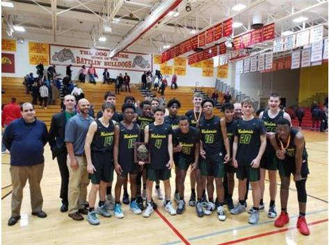 Boys Basketball - '19 Batavia Invite Champions