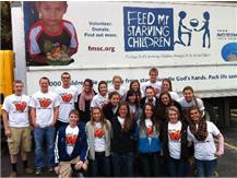 ALC volunteers at Feed My Starving Children.