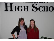 Sarah Deicke and Emily Cook head to Girls Gymnastics State!