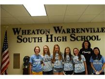 State Bound Girls Badminton Team