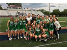 For the 3rd straight year the Lady Dukes take home a Sectional Title with a big win over Naperville North 14-10.