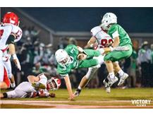 Football action vs Hinsdale Central