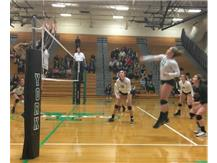 Volleyball with a big win over Glenbrook South