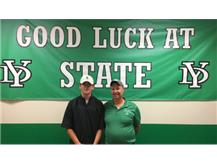 Good Luck Aidan at State!