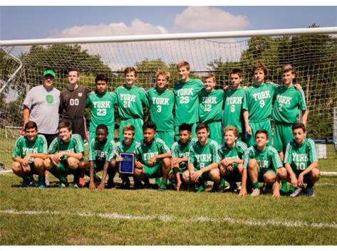 Sophomore Soccer win Lake Park Invite