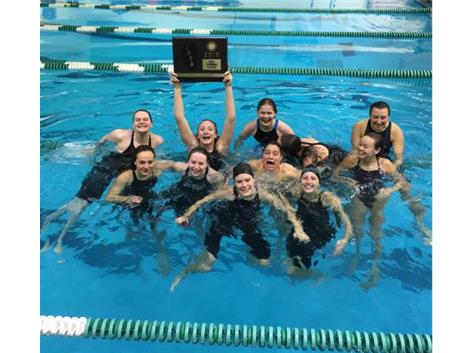 Girls Swim Sectional Champs - Way to go Lady Dukes