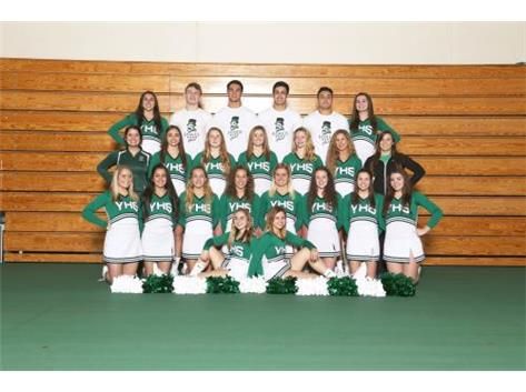 Winter Varsity Cheer Squad