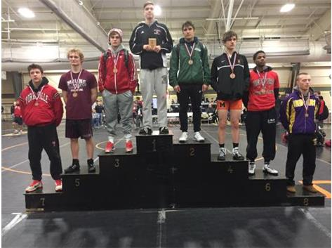 Austin Hoffman 2nd Place Sycamore Invitational