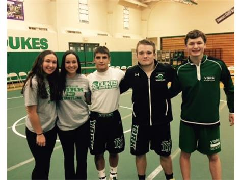 Wrestling Seniors - Good Luck to you all!!