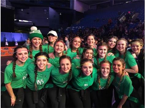 6th Place State Finish - Competitive Dance