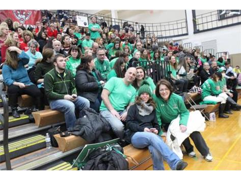 2017 Cheer Sectional Fans