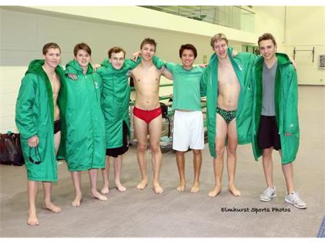 Senior Swim - Good Luck Boys!