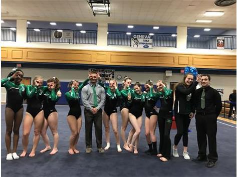 Monacle Pride - Girls Gymnastics Regional