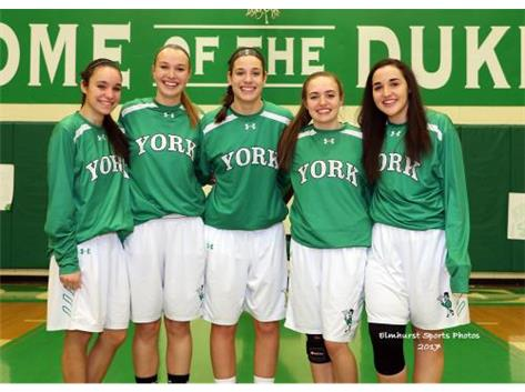 Senior Girls - Good Luck to a great group!!