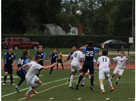 Varsity Home Opener Action with a win over Nazareth 5-1