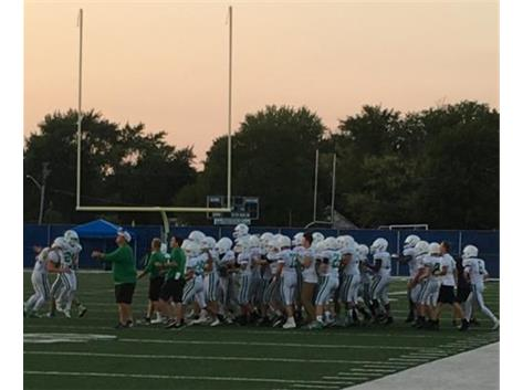 Sophomore FB Win over New Trier