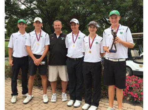 3rd Place Finish for the Boys' Golf at the Fenton Invite