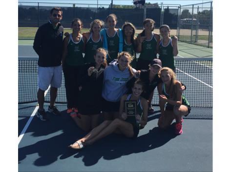 Varsity Tennis win Buffalo Grove Invite