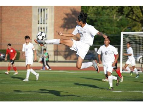 Sophomore Soccer action in win over Proviso West