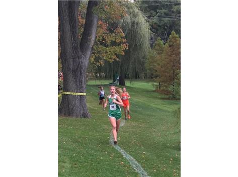 Sarah May 5th overall at the Regional