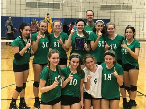 Freshman A Volleyball took 2nd in the Geneva Invite and finish undefeated in Conference.