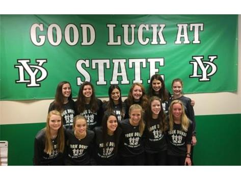Good Luck at State Ladies Cross Country