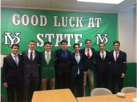 Good Luck at State Boys Cross Country