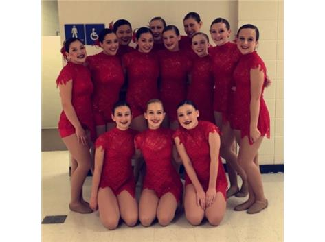 JV Competitive Dance finishes 4 at Wheaton North