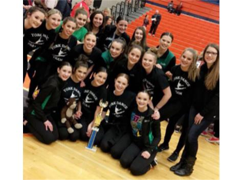 1st Place Competitive Dance at Stagg