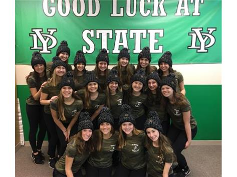 Competitive Dance to State!!  Good Luck to State!