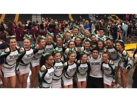 Cheer Moving onto State