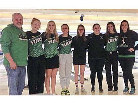 Bowling takes 2nd at Regionals
