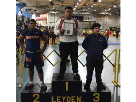 Josh Matheison places first at the wrestling Regional