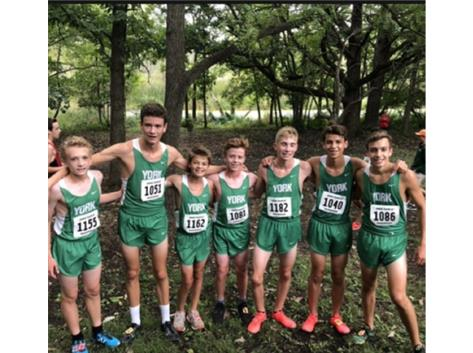Freshman XCtry 1st Place