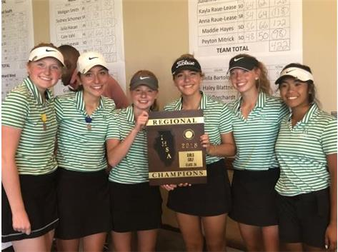 Regional Girls Golf Champs